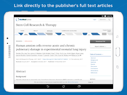 Prime: PubMed Journals & Tools- screenshot thumbnail
