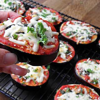 Eggplant Pizzas.
