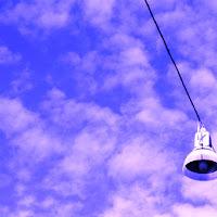 Streetlight in the sky di