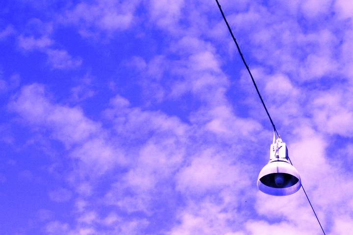 Streetlight in the sky di GiuseppeBongiorno