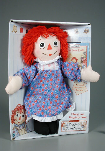 Doll set | book:Storytime Raggedy Ann