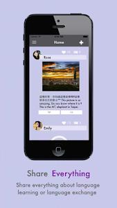 LeXchat - Make Foreign Friends screenshot 0