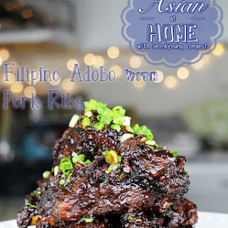 Filipino Adobo with Baby Back Ribs