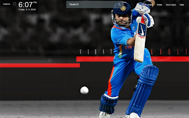 Virat Kohli Wallpapers Theme New Tab