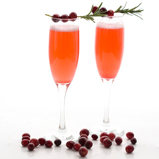 Cranberry Champagne Sparklers Recipe