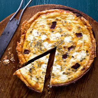 Bacon-Cheddar Quiche