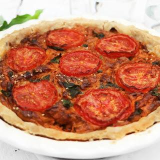 Sun-Dried Tomato Quiche [Vegan, Gluten Free] Recipe