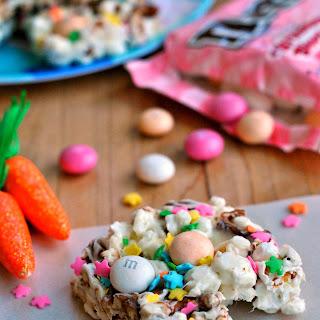 Easter Popcorn Bars.