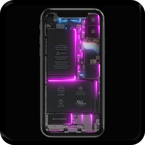 Phone Electricity Live Wallpaper - Apps