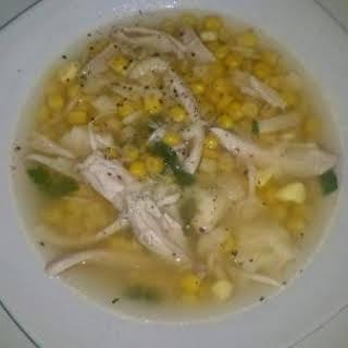 PA Dutch Chicken Corn Soup.