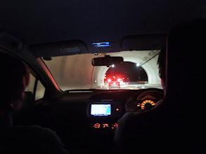 Photo: しまなみ海道で渋滞にまきこまれる・・ 田中君運転おつかれ!