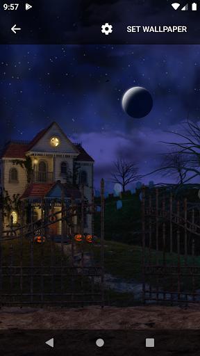 Scary House Live Wallpaper screenshot 5