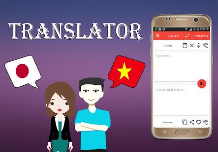 Japanese To Vietnamese Translator - náhled