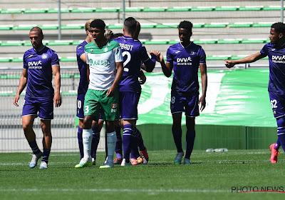 Anderlecht bat Saint-Etienne deux fois, mais perd Kompany