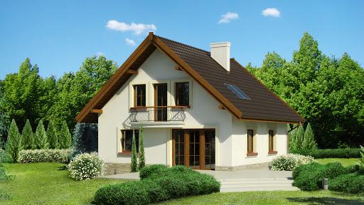 projekt Dom przy Cyprysowej 12 K