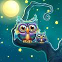 Cute Owls Live Wallpaper icon