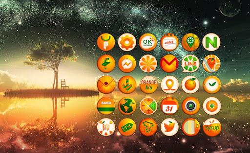 My orange tree live theme