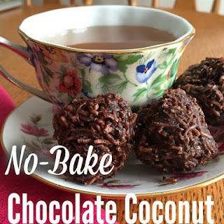 No-Bake Chocolate Coconut Macaroons (Grain-free, Dairy-free, No Refined Sugar).