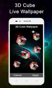 3d Cube Live Wallpaper Photo Cube Live Wallpaper App Su Google Play