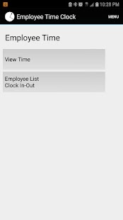Employee Time Punch Clock - náhled