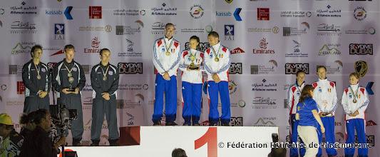 Photo: FreeFly, Champions du Monde (Kristall) et médaillés de Bronze (Babylon), WPC 2012
