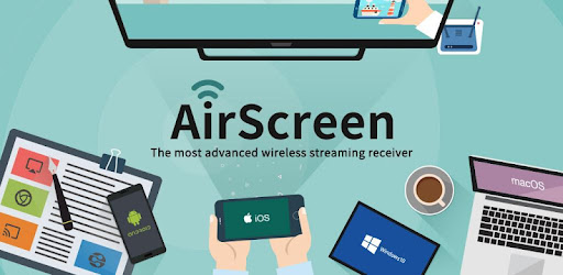 AirScreen - AirPlay & Google Cast & Miracast - Apps on
