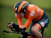 Van der Breggen rijdt Van Dijk op halve minuut en pakt eerste Europese titel in tijdrijden