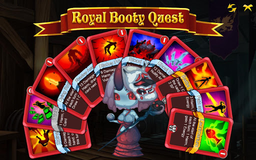 Télécharger Gratuit Royal Booty Quest: Card Roguelike APK MOD (Astuce) screenshots 2