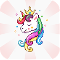 Unicorn Color By Number Collection icon
