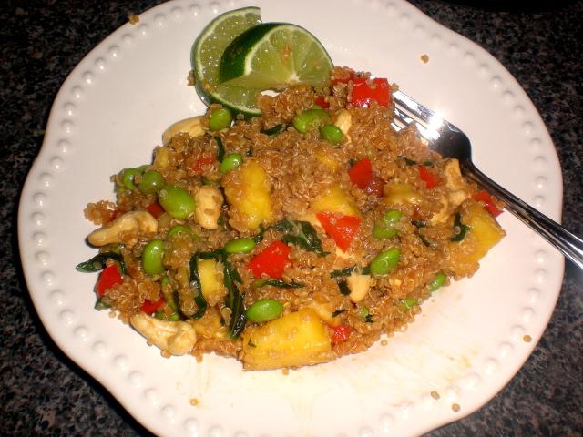 Veganomicon'S Pineapple-Cashew-Quinoa Stir-Fry Recipe