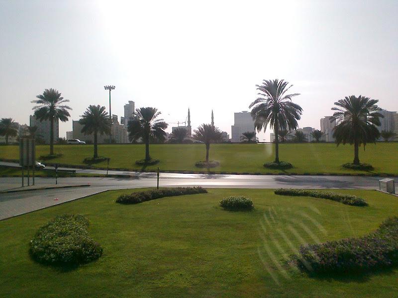 Photo: Sharjah Bus stand