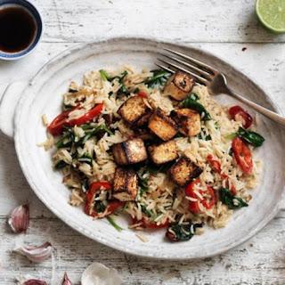 Asian-style Tofu Stir-fry.