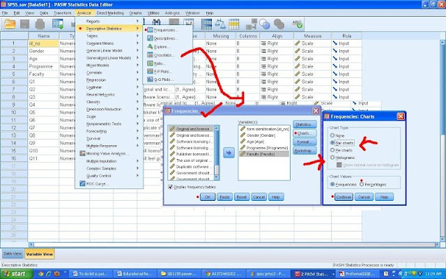 Using SPSS Data Analysis - screenshot