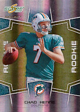 Photo: Chad Henne 2008 Select RC (#405/999)