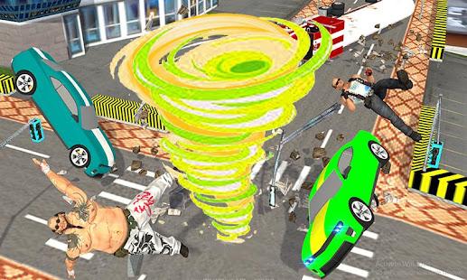 Giant Tornado Robot:Futuristic Robot Superhero War - náhled