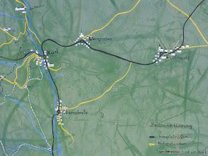 Photo: Wieder zurück im Ortszentrum von Karl studiere ich die Route ... (Karl - Nähe Oberrabnitz - Draßmarkt - Nähe Weingraben - Karl)
