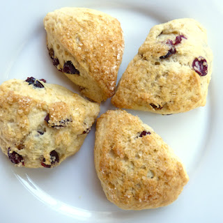 Dried Fruit Cream Scones