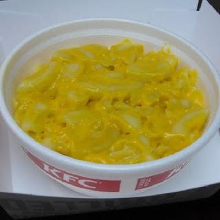 KFC Mac and Cheese.