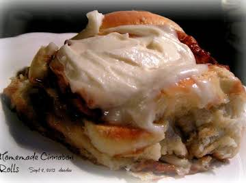 """Cinnabon"" Cinnamon Rolls (using bread machine)"
