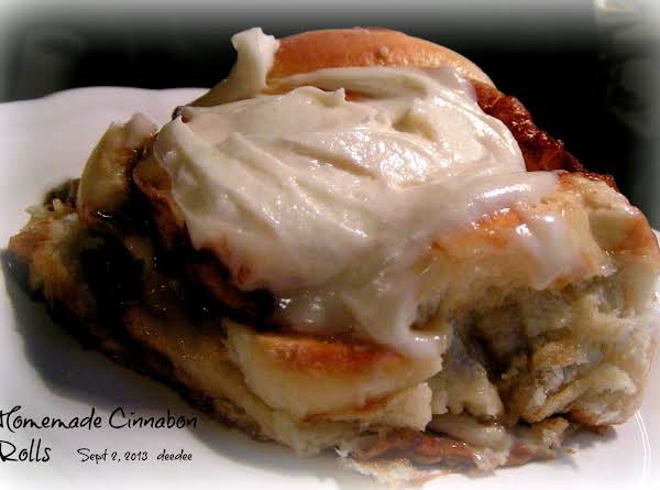 Cinnabon Cinnamon Rolls (using Bread Machine) Recipe