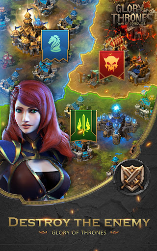 Glory of Thrones: War of Conquest 1.0.4 screenshots 9