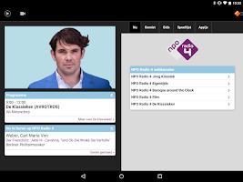 Screenshot of NPO Radio 4