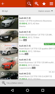 Nettiauto- screenshot thumbnail
