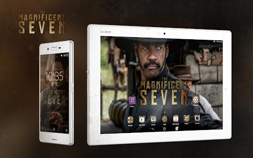XPERIA™ Magnificent 7 Theme- screenshot thumbnail