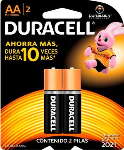 Bateria Duracell Aa 2und Duracell