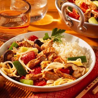 Chinesische Gemüsepfanne