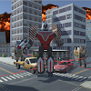 X Robot City Fight