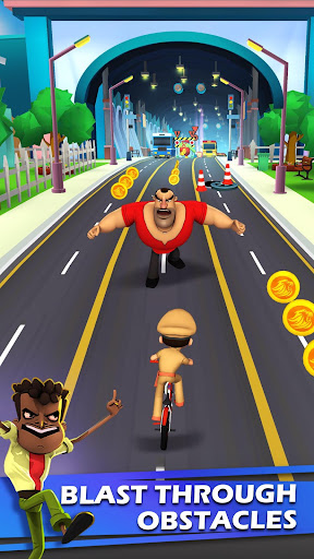 Little Singham Cycle Race apkdebit screenshots 2