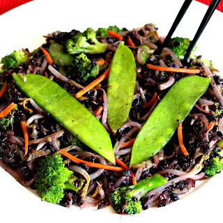FORBIDDEN BLACK RICE STIR FRY Recipe