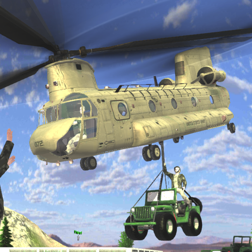 Army Helicopter Flying Simulator